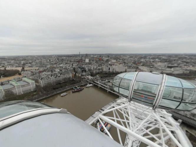 24ωρο time-lapse video 360º του Λονδίνου