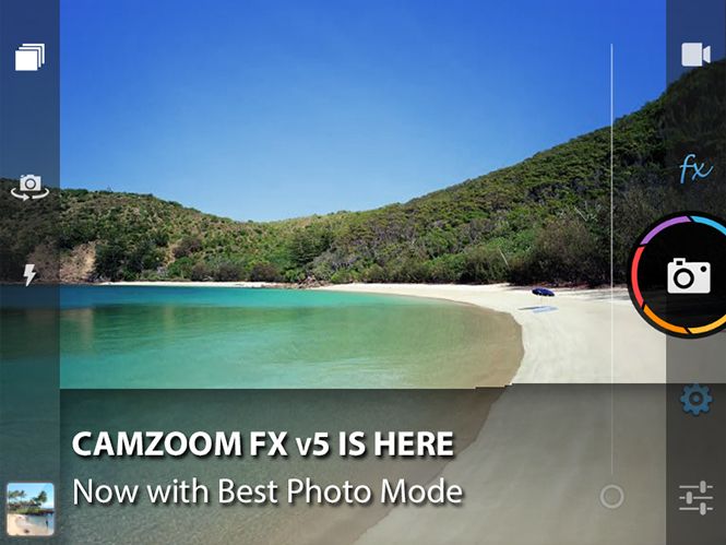 Camera ZOOM FX με έκπτωση 40% για Android κινητά τηλέφωνα!