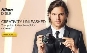 Nikon Ashton Kutcher