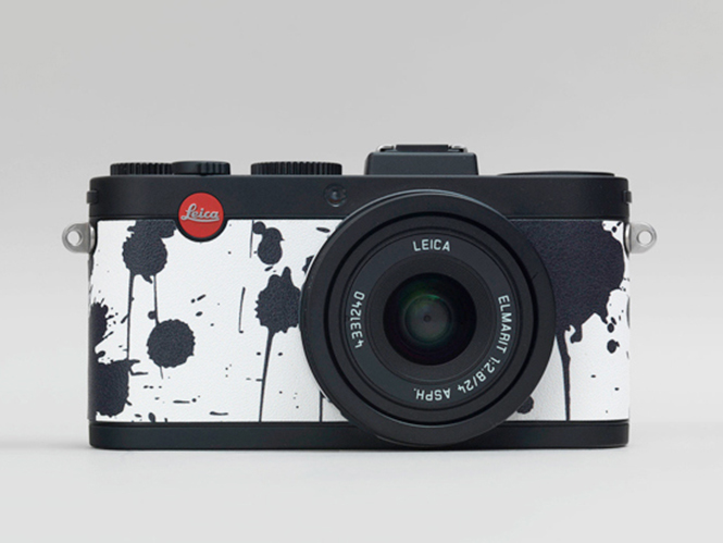 Leica X2 Gagosian Edition, ειδική έκδοση με ασπρόμαυρη πινελιά