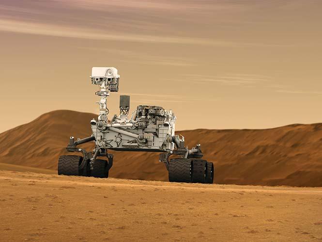Το Curiosity προσεδαφίζεται στον Άρη…εκπληκτικό video!