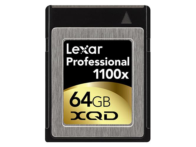 Lexar XQD κάρτες μνήμης με ταχύτητα 1100x
