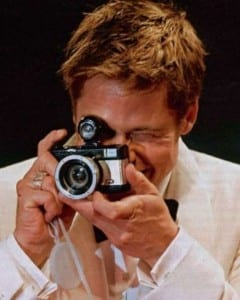 Brad Pitt Photographer