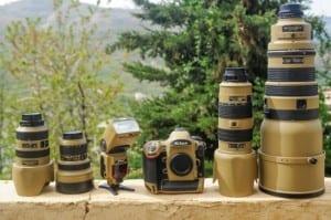 Nikon Gear Custom paint 9