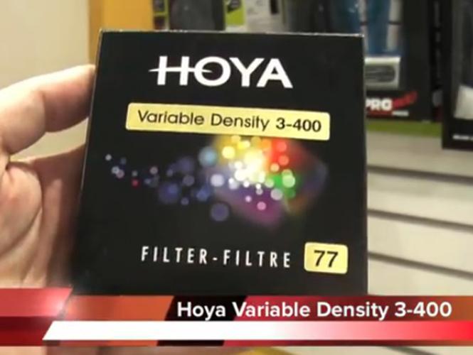 Η νέα σειρά φίλτρων Hoya Variable Density 3-400 στη Photovision 2013