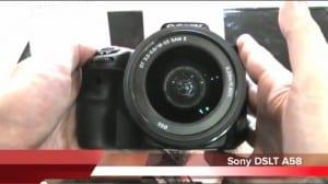 Sony DSLT A58