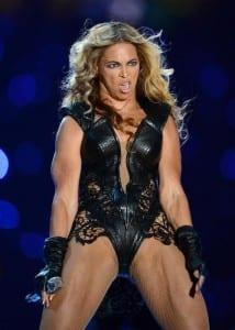 Beyonce at Superball