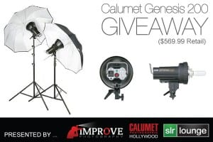 calumet studio light kit giveaway