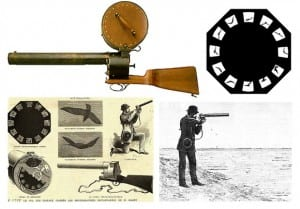 movie camera gun