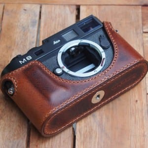 JnK Leica leather case