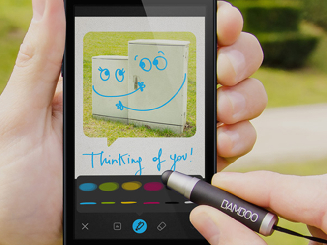 Wacom Bamboo Loop, νέα εφαρμογή για αποστολή φωτογραφιών σε μορφή κάρτας μέσω smartphone
