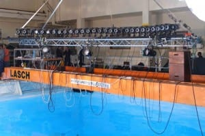 underwater camera array