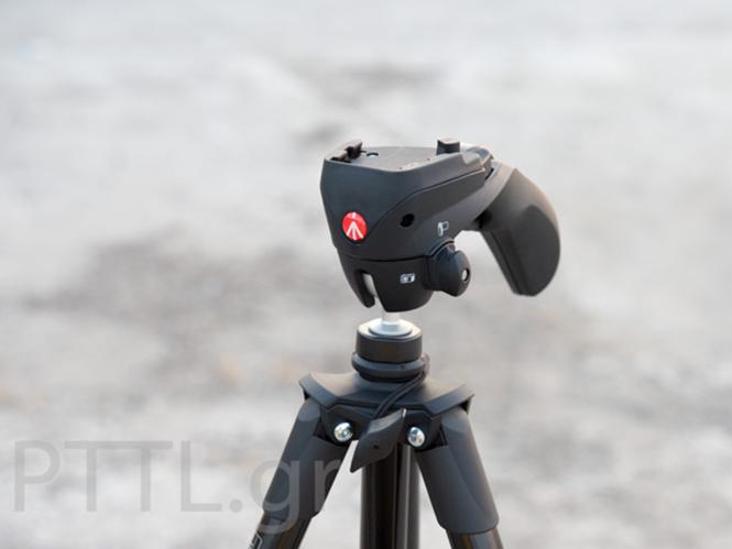 Manfrotto MKC3-H01, με υβριδική κεφαλή κατάλληλη για φωτογραφίες και video (Hands-on)