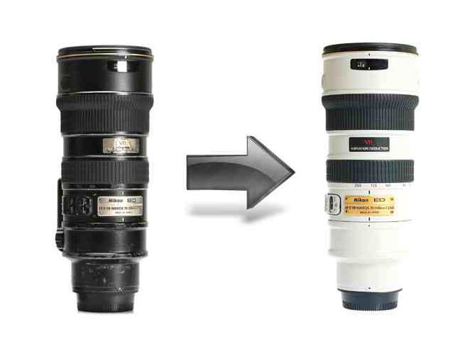 Εκπληκτική αποκατάσταση Nikon φακού