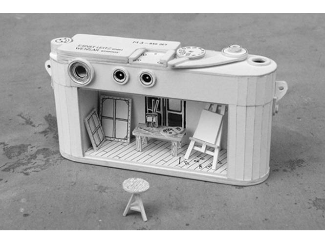 Paper cardboard Leica M3