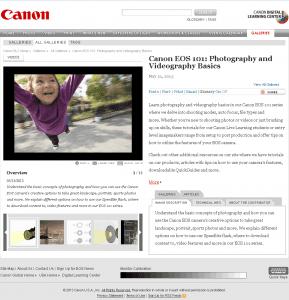 Canon EOS101