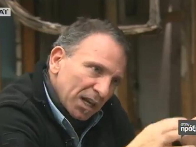 Συνέντευξη του Γιάννη Μπεχράκη στην ελληνική τηλεόραση