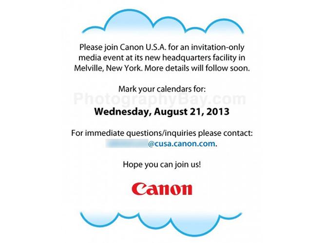 Παρουσίαση της Canon στη Νέα Υόρκη στις 21 Αυγούστου