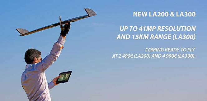 Lehmann LA300, ιπτάμενο drone για λήψη φωτογραφιών και video με το Nokia Lumia 1020