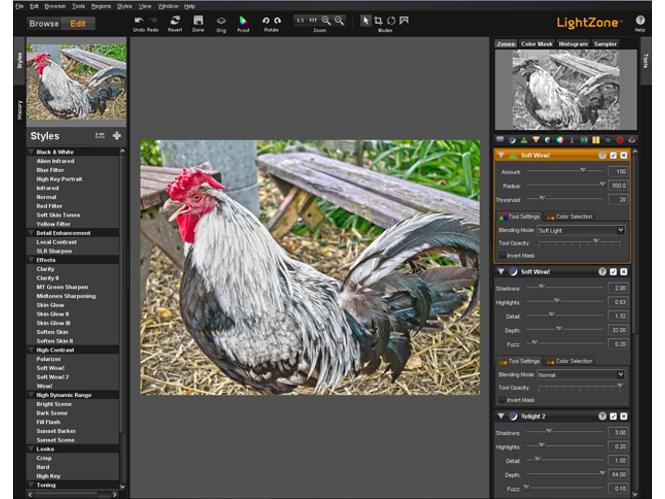 Το πρόγραμμα επεξεργασίας φωτογραφιών LightZone διατίθεται δωρεάν
