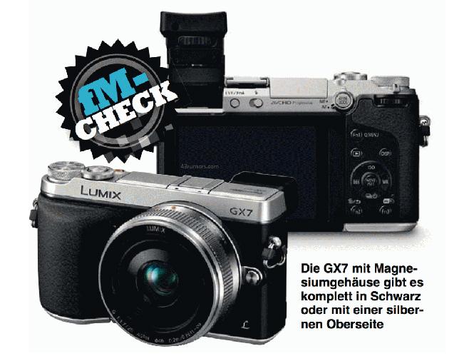 Διέρρευσαν οι πρώτες εικόνες και τα χαρακτηριστικά της Panasonic GX7