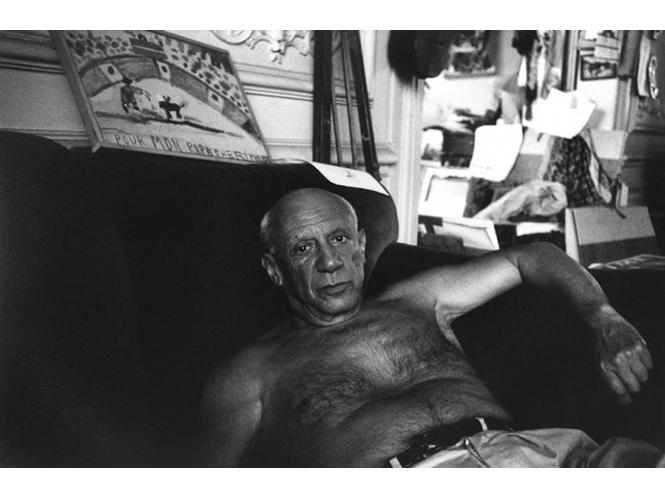 René Burri Picasso