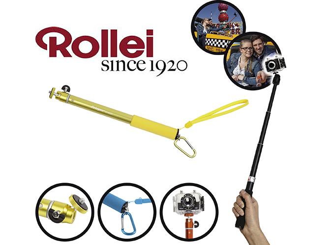 Νέα arms extension για action cameras και compact μηχανές  από τη Rollei