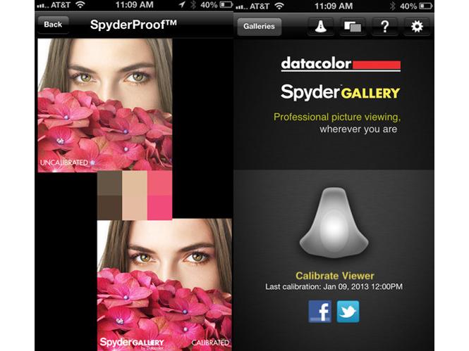 Καλιμπράρετε την οθόνη του tablet και του smartphone σας με την εφαρμογή SpyderGallery