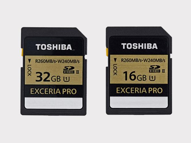 Toshiba Exceria Pro, νέα σειρά κάρτων μνήμης SD με υψηλότατες ταχύτητες εγγραφής