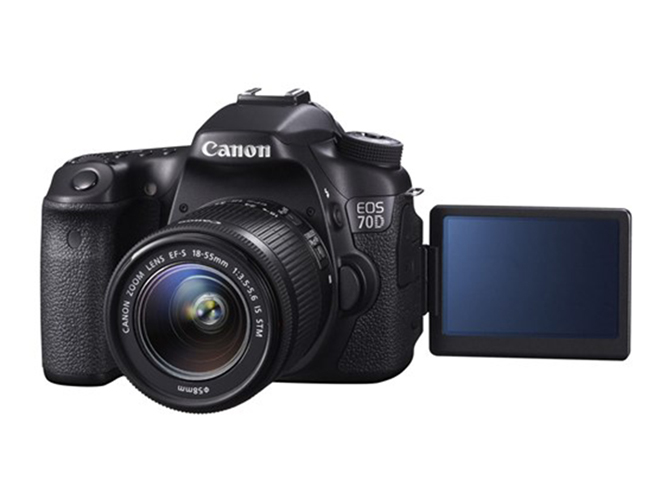 Canon EOS 70D με Dual Pixel CMOS AF αισθητήρα
