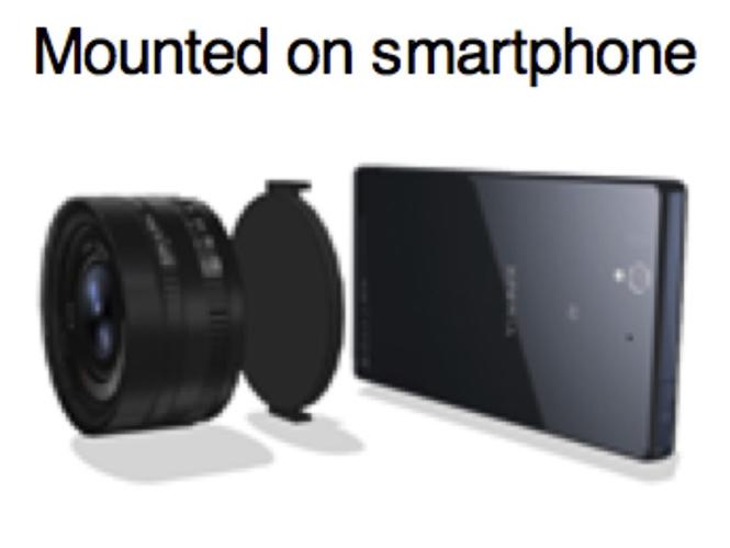 Η Sony ετοιμάζει φακό με ενσωματωμένο αισθητήρα εικόνας;