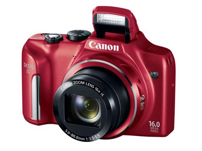 Νέα Canon Powershot SX170 IS με 16x οπτικό zoom