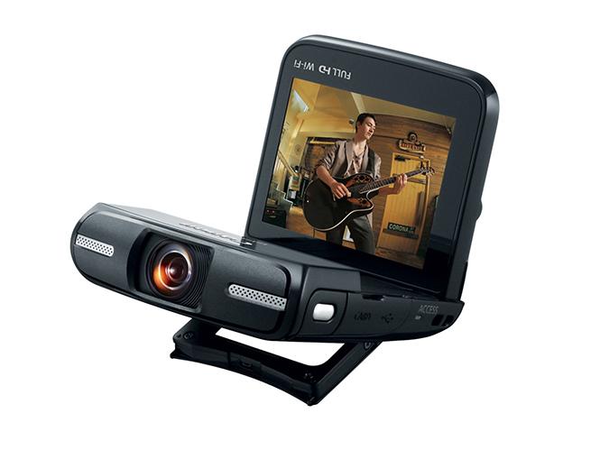 Canon Vixia Mini, μία νέα mini videocamera με fisheye φακό, κατάλληλη για να βιντεοσκοπούμε τον εαυτό μας