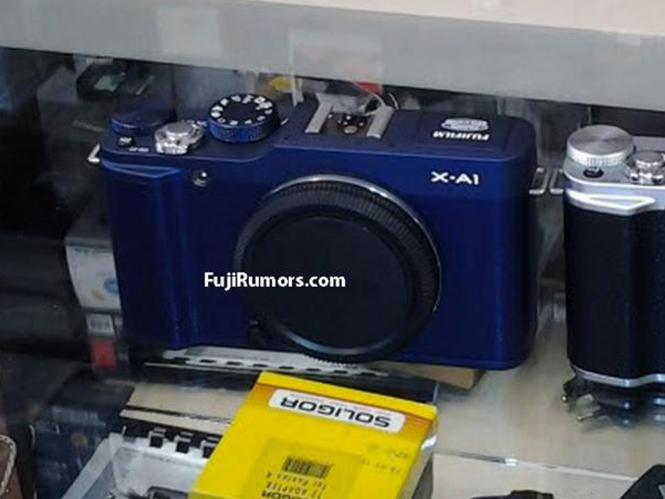 Διέρρευσε η πρώτη εικόνα της Fujifilm X-A1