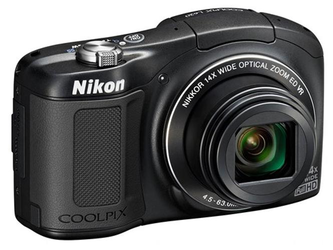 Νέα λεπτή Nikon Coolpix L620 με 14x οπτικό zoom