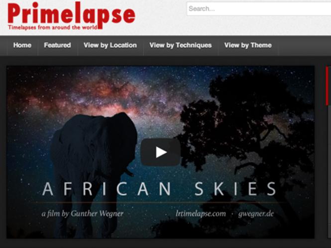 Αν είστε λάτρεις της τεχνικής Time Lapse, η ιστοσελίδα PrimeLapse είναι για εσάς