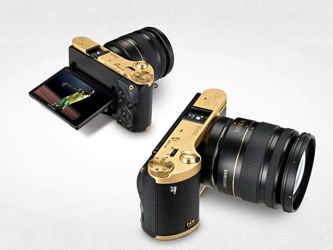 Ειδική χρυσαφένια έκδοση της Samsung NX300 από την Axiom Telecom