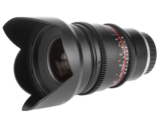 Η Samyang παρουσιάζει τον cinema φακό, Samyang 16mm V-DSLR T2.2 ED AS UMC CS