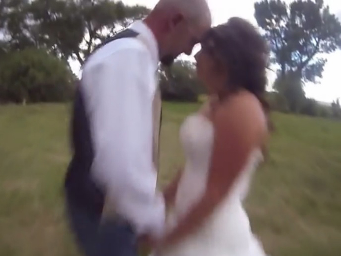 Φωτογράφοι γάμου σκεφτείτε το πριν χρησιμοποιήσετε drone στη φωτογράφιση του ζευγαριού