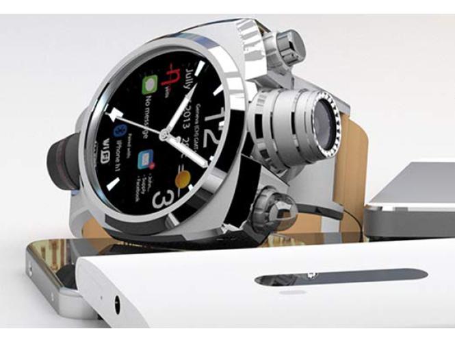 Hyetis Crossbow, ένα smart ρολόι χειρός με κάμερα 41 megapixels