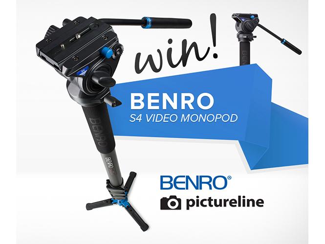 Κέρδισε ένα μονόποδο της Benro για video από τη pictureline