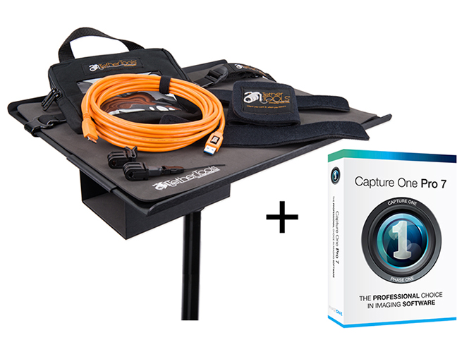 Tether Tools και Phase One προσφέρουν το Capture One + Tether Tools Pro Kit
