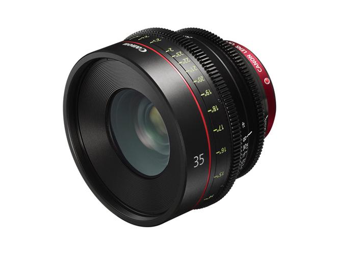 Η Canon ανακοινώνει τον Canon CN-E35mm T1.5 L F