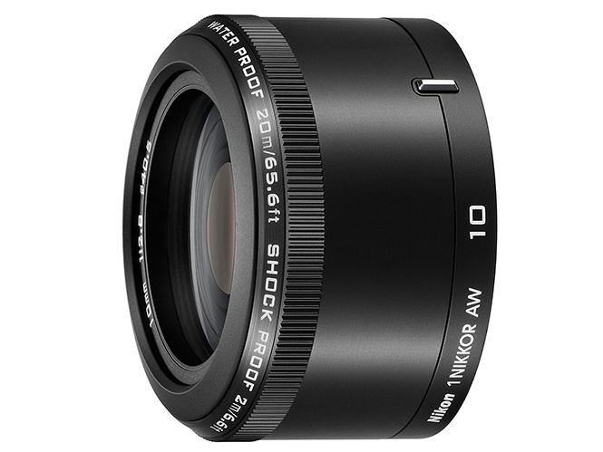 Nikkor 1 AW 10mm f/2.8 και Nikkor 1 AW 11-27.5mm f/3.5-5.6, οι δύο πρώτοι υποβρύχιοι φακοί από την Nikon