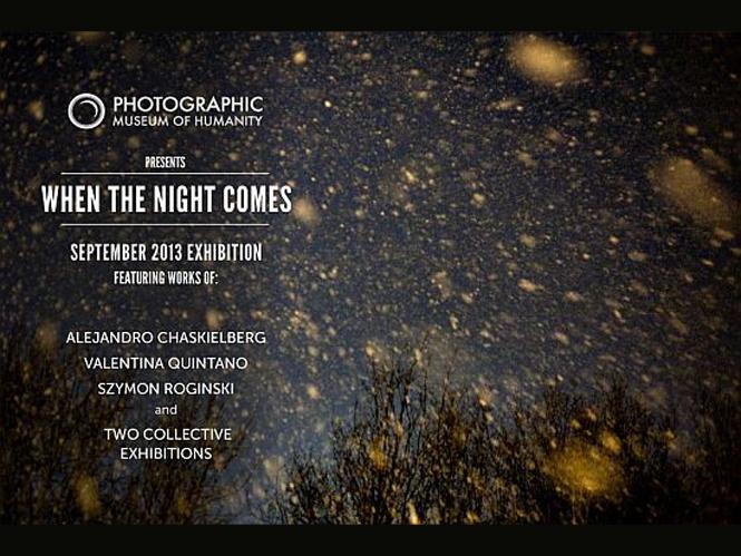 When the Night Comes, online έκθεση φωτογραφίας