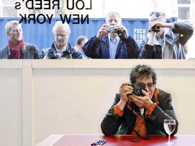 """Έφυγε από τη ζωή ο """"φωτογράφος"""" Lou Reed στα 71 του χρόνια"""