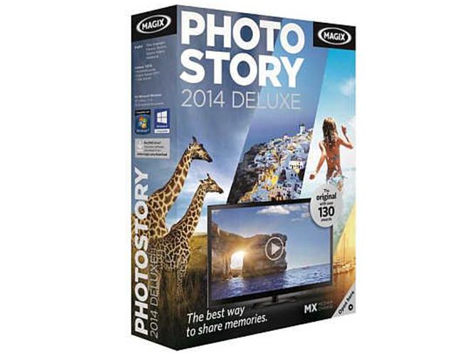 MAGIX PhotoStory 2014 Deluxe, δημιουργία slideshows με υποστήριξη HD, 4K και 3D.
