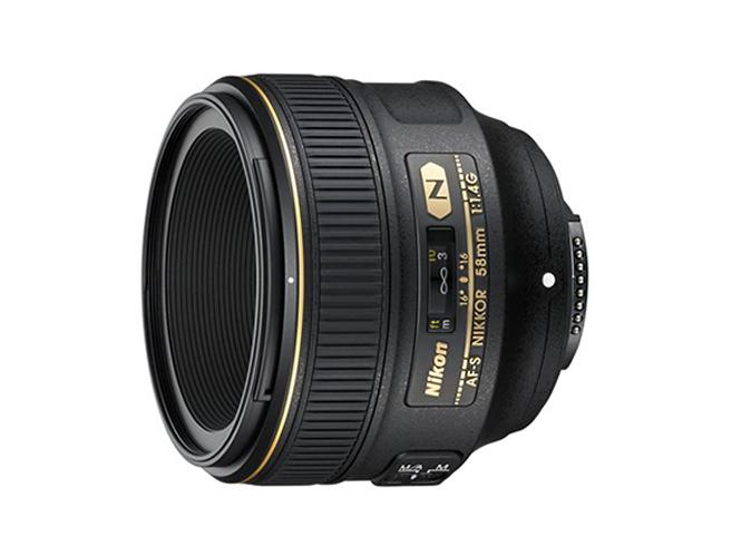 Νέος Nikkor AF-S 58mm f/1.4 G από την Nikon