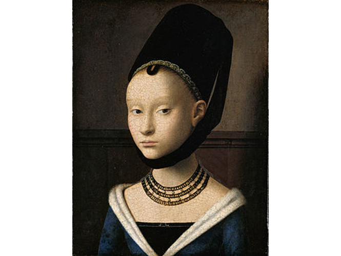 Portrait of a Young Girl (c 1470), Petrus Christus.