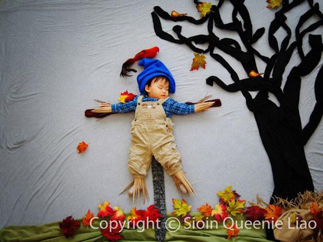 Μωρό πρωταγωνιστεί σε παραμυθένιες ιστορίες μέσω του φακού της μητέρας του